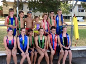 nundle carnival swimmers